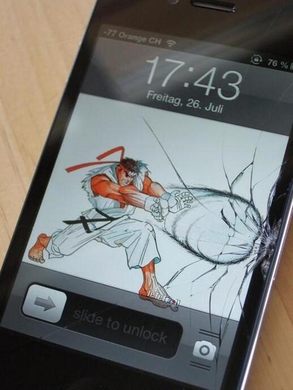 Comment redonner du style à un iPhone dont la vitre est brisée ?