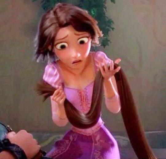 J'ai demandée au coiffeur de me couper juste les pointes..