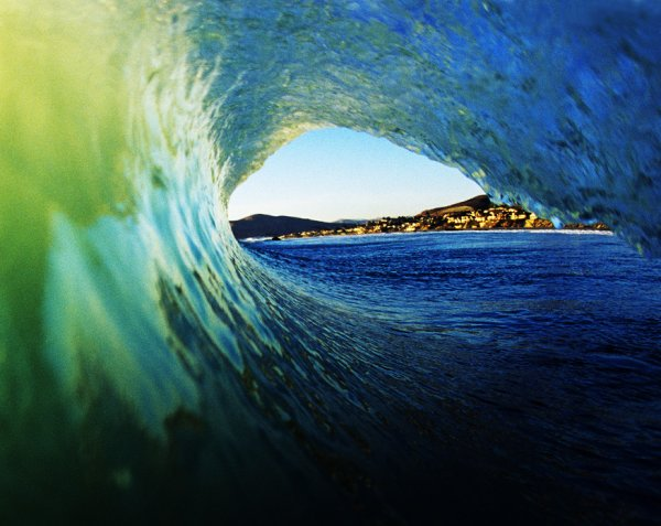 Le paradis se trouve près de l'ocean.
