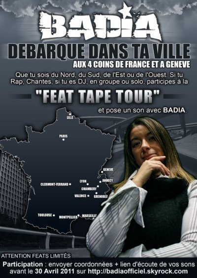 feat tape tour