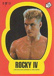 stickers rocky IV