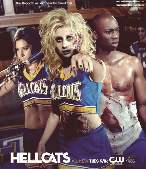 Une nouvelle photo promotionnelle pour la série Hellcats est apparue. Aimes-tu la photo ? Moi je n'aime pas , ça ne ressemble pas du tout à Hellcats.Donnez moi votre avis.