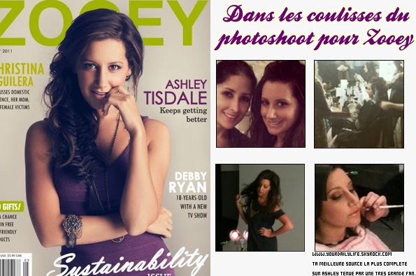 5 avril 2011 -Ashley a déjeuné avec son partenaire de SFAAustin Butler tout en se faisant maquiller.