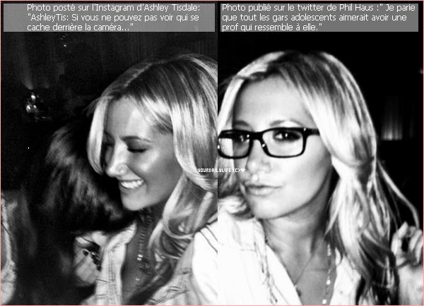 - Vendredi 16 mars• Ashley s'est rendue dans un bureau pour des réunions à Century City (Californie). Elle était sublime et son rouge à lèvre lui va à ravir. J'adore sa tenue qui fait très rock tout comme son jolie vernis orange. Un gros top! -