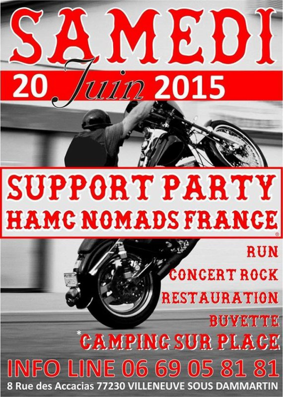 SUPPORT HAMC NOMADS