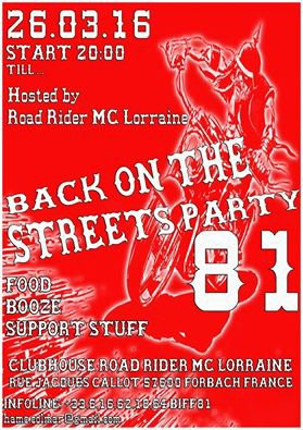 BACK IN THE STREET 81