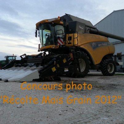 concour photo ramasage mais grain 2012