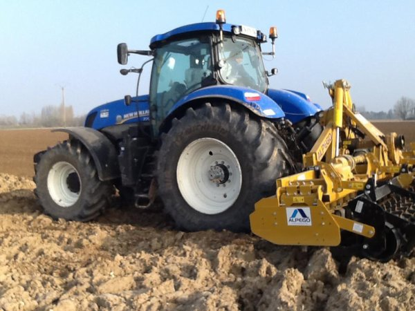 new holland t.6 et alpego 6 m