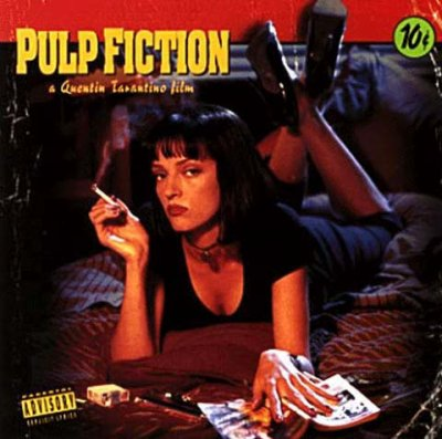 "PULP FICTION... ""Je vais me repoudrer le nez..."""
