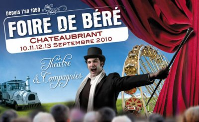 Chateaubriant (44) Foire de Béré Du 10 au 13 septembre 2010