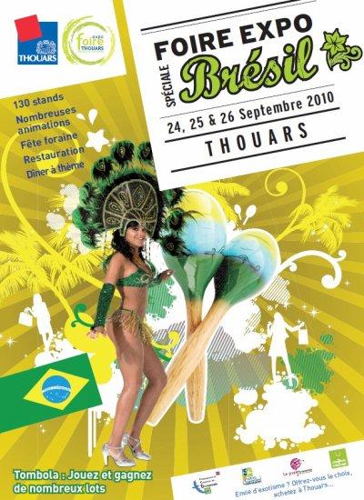 Thouars (79) Foire Expo Du 24 au 26 septembre 2010