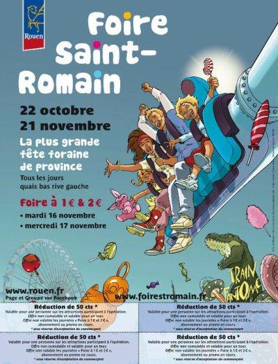 Rouen Foire St Romain Du 22 Octobre au 21 Novembre 2010