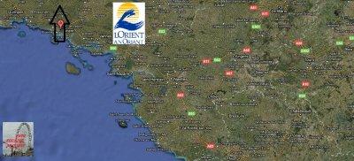 Lorient (56) fête foraine Du 11 Décembre au 2 janvier 2011