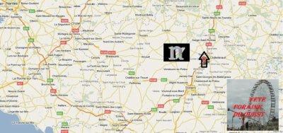 Naintré (86) fête foraine le 12 et 13 mars mars 2011
