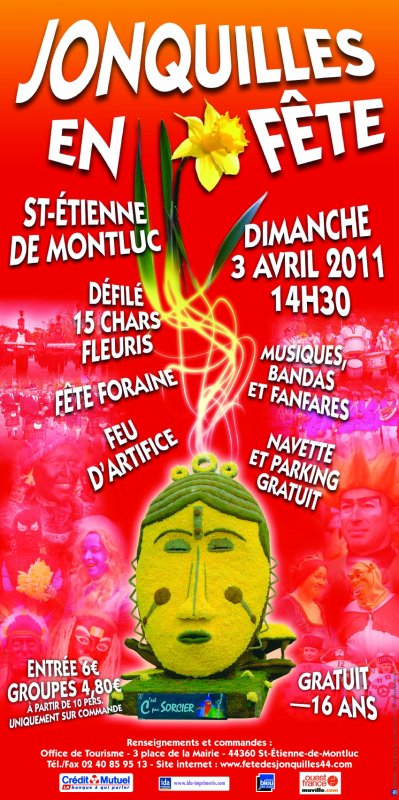 St Etienne de Montluc (44) Fête des Joncquilles Du 1 au 4 avril 2011