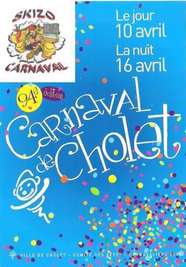 Cholet (49) carnaval Du 9 au 17 avril 2011