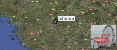 Saumur (49) Fête foraine Fête des Récollets Du 16 et 17 avril 2011