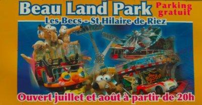 St Hilaire de Riez (85) Beauland park Du 2 juillet au 28 aout 2011