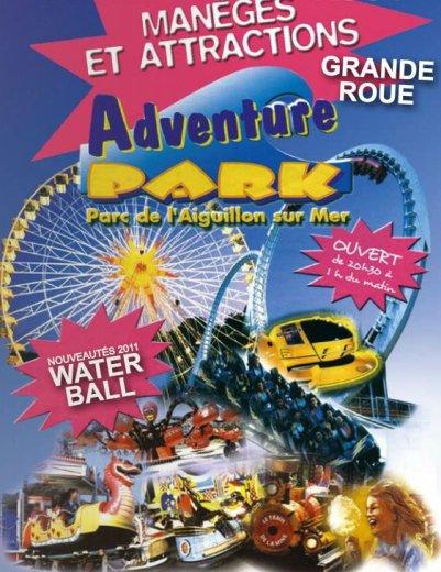 L'Aiguillon sur mer (85) Adventure park Du 25 juin au 28 aout  2011
