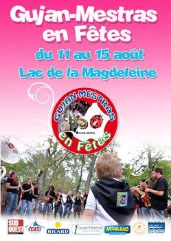 GUJAN-MESTRAS (33) La Foire aux Huîtres Du 11 au 15 Août 2011