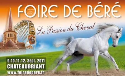 Chateaubriant (44) Foire de Béré Du 9 au 12 septembre 2011
