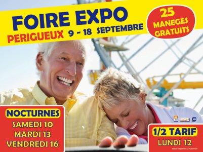 PERIGUEUX (24) foirexpo Du 10 au 18 septembre 2011