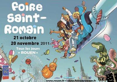 Rouen Foire St Romain Du 21 Octobre au 20 Novembre 2011
