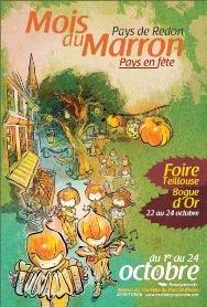 Redon (35) La foireTeillouse Fête foraine Du 22 au 26 Octobre 2011
