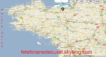 St Malo (35) Fête foraine La Sainte-Ouine Du 21 janvier Au 19 février 2012