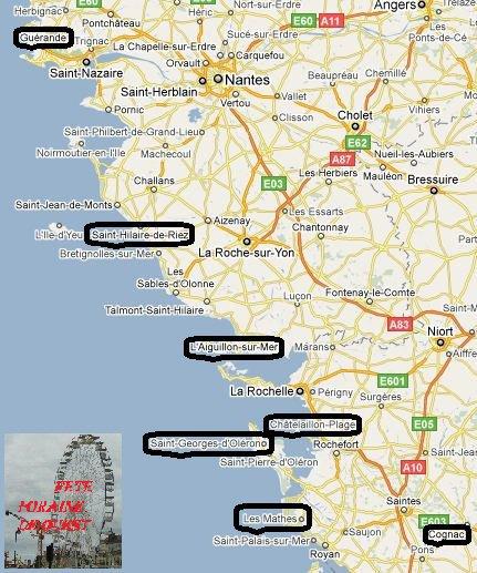 Special été 2012 les metiers qui passe en tournée sur vos fête de France