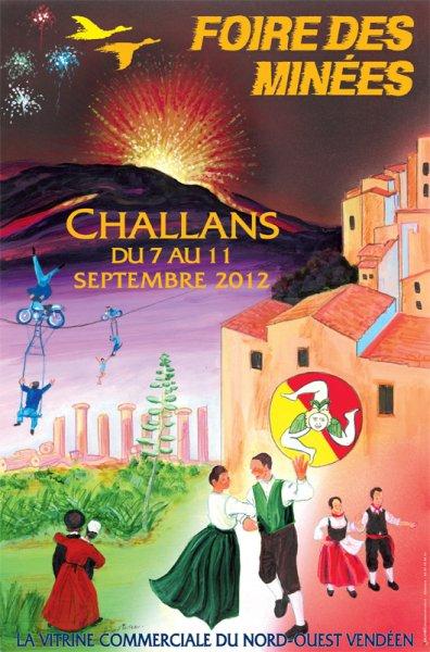 Challans (85) Foire des Minées Du 7 au 11 septembre 2012