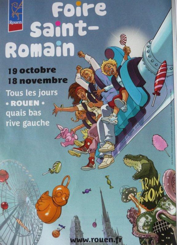 Rouen Foire St Romain Du 19 Octobre au 18 Novembre 2012