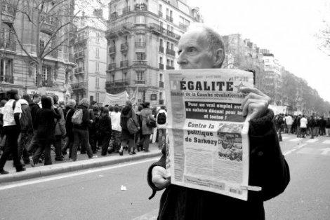 Manifestation Paris