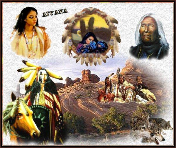 Me voici pour partager ma passion pour les loups et le peuple amèrindien .