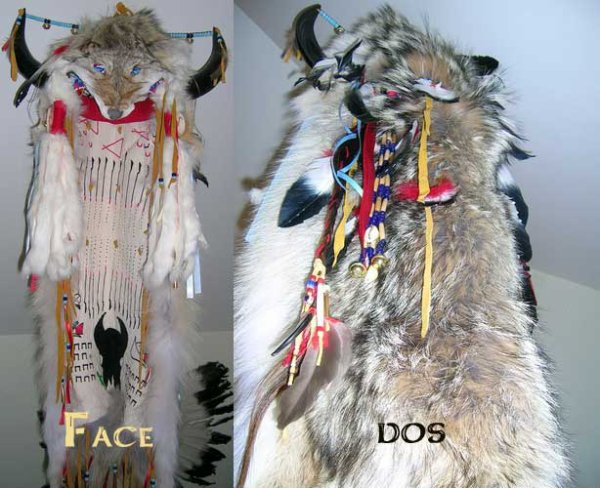 La  coiffe plume amérindienne