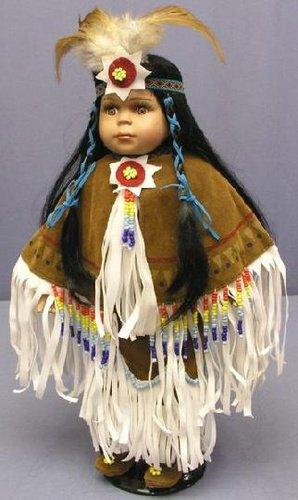 Encore des poupées amerindienne