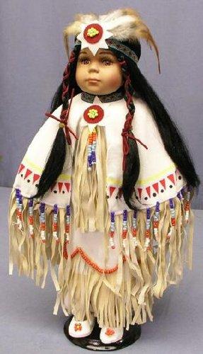 Poupée  amérindienne     les dernières photos