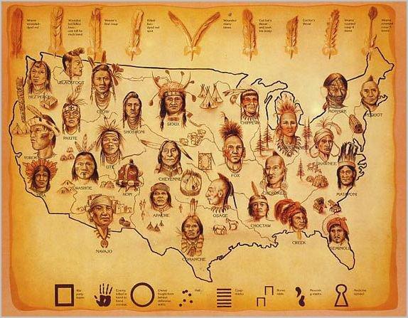 Carte Amerindienne