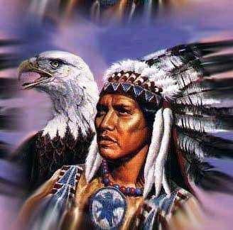 Indien aigle