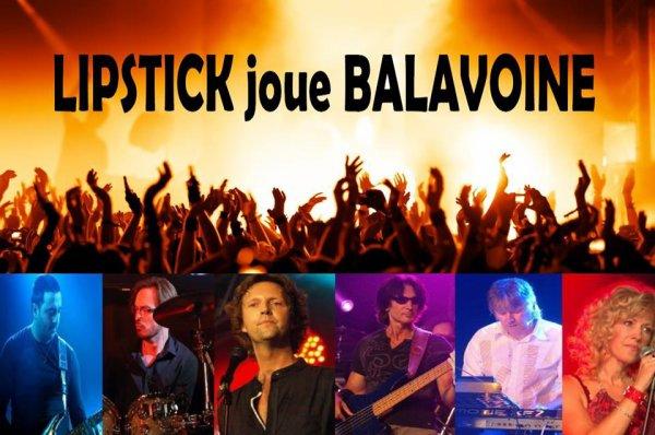 Lipstick Joue Balavoine (prochaines dates) (Belgique)