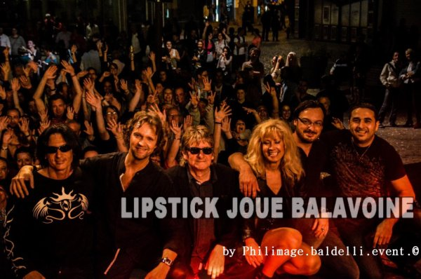 Lipstick Joue Balavoine aux fêtes de Wallonie à Liège
