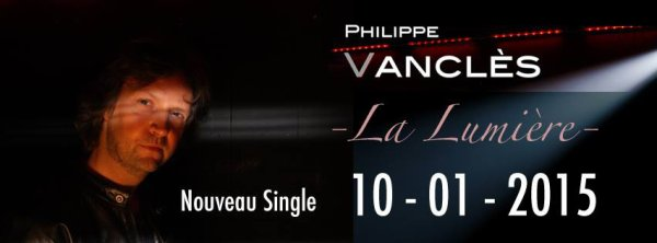 J-4 :) nouveau single de Philippe Vanclès