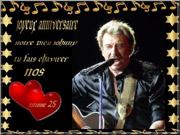 joyeux anniversaire a notre dieu du rock <3 <3 <3