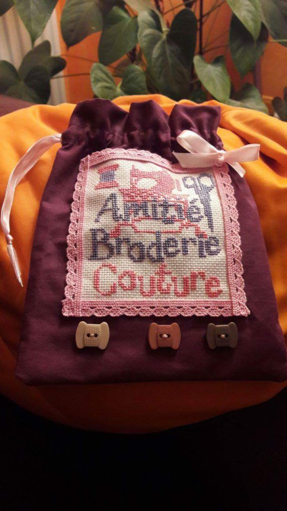 Broderie et couture....