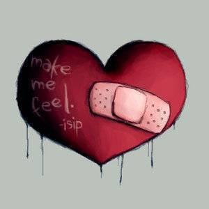 Petit coeur Brisé par tant de Con