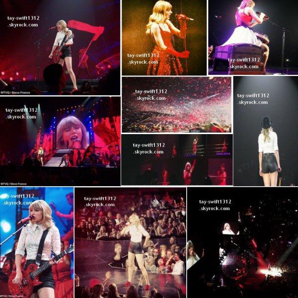 27.04.13: Les photos de son concert à Lexington (Kentucky) dans la salle du Rupp Arena et quelques unes du Club Red