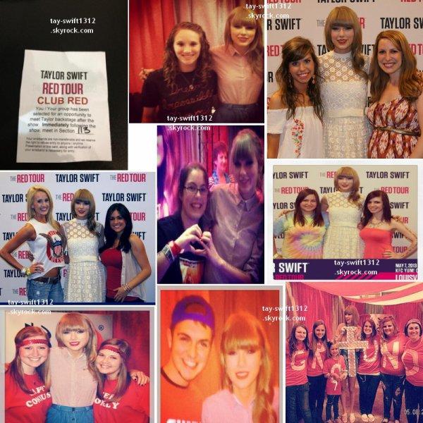 07.05.13 Photos du concert à Louisville (Kentucky) et du Club Red