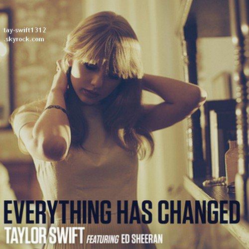 """11.05.13 Deux photos du shoot en HQ pour """"The Hollywood Reporter"""" et la cover du nouveau single en featuring avec Ed Sheeran """"Everything Has Changed"""""""