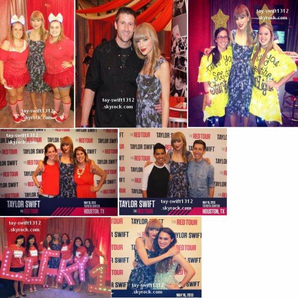 16.05.13 Concert du Red Tour à Houston (Texas) + des photos du Club Red