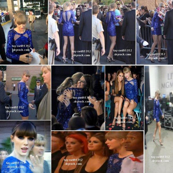 19.05.13 Taylor s'est rendue à la cérémonie de BBMAs où sa meilleure amie Selena été présente. Elle a chanté 22 sur scène et a gagné 8 prix !!